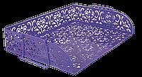 Лоток горизонтальный металлический Barocco (BM.6253-07)