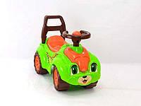 Машинка каталка автомобиль для прогулок 3428 зеленая, фото 1