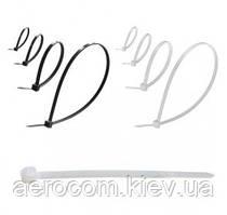 Стяжки (хомуты) нейлоновые (пластиковые) - 100шт упаковка