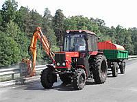 Оборудование для мойки дорожной обстановки