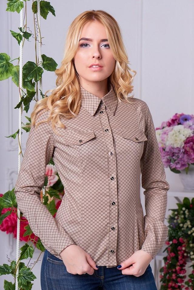 женская рубашка в ковбойском стиле