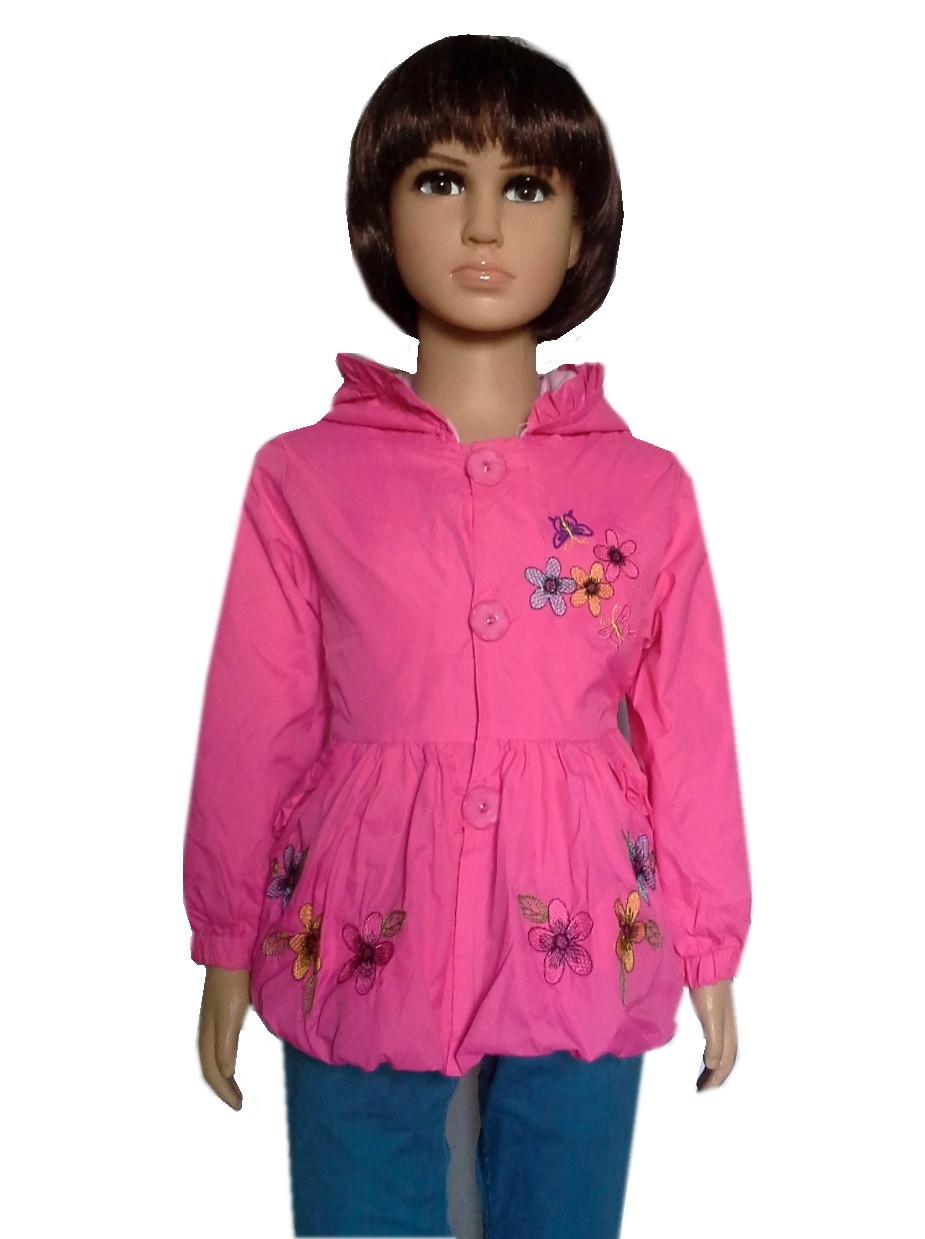 Куртка с цветочками