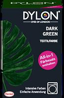 DYLON Textilfarbe Dark Green - Темно зеленая текстильная краска, 350 г