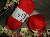 Nako Solare (Нако Соларе) 6951 красный100 % египетский хлопок