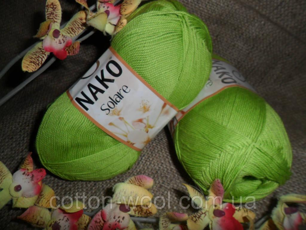 Nako Solare (Нако Соларе) 11014 фисташковый 100 % египетский хлопок