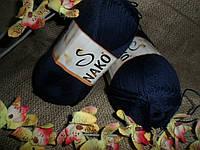 Nako Solare (Нако Соларе) 6955 темно-синий 100 % египетский хлопок