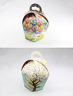 Упаковка для пасхи, коробка для кулича (куполообразная) 110х160мм - Меньшая, фото 1