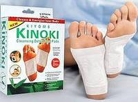 Пластырь для стоп детоксикационный Kinoki c турмалином и хитозаном.10 шт.