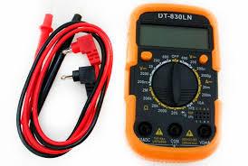 Цифровой тестер мультиметр multimeter DT-830LN