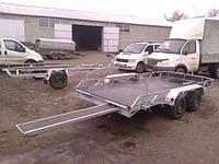 Причіп для перевезення баггі і квадроциклів. Без гальмівної системи., фото 1