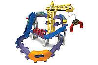 Железная дорога Chuggington StackTrack Brewster's Big Build Adventure Приключения Брюстера на площадке, фото 1
