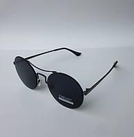 Женские солнцезащитные очки Furlux круглые черные