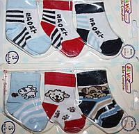 Носочки для новорожденных (3 пары-планшетка)