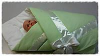 Конверт-одеяло на выписку Весна-Лето.