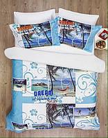 Комплект постельного белья  le vele сатин размер евро dream