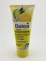 Balea крем для рук с пахта лимон Handcreme Buttermilk & lemon 100мл