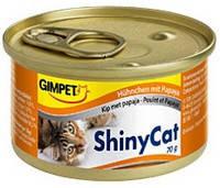 Gimpet ShinyCat с курицей и папайей 70 гр.*2 шт.