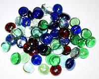 Марблс (стекло), цветной, прозрачный