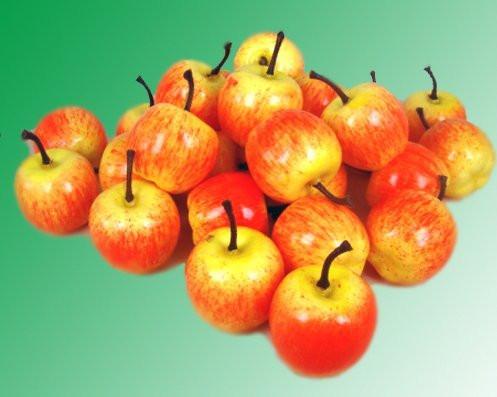 Яблуко жовто-червоне 3,5 див.