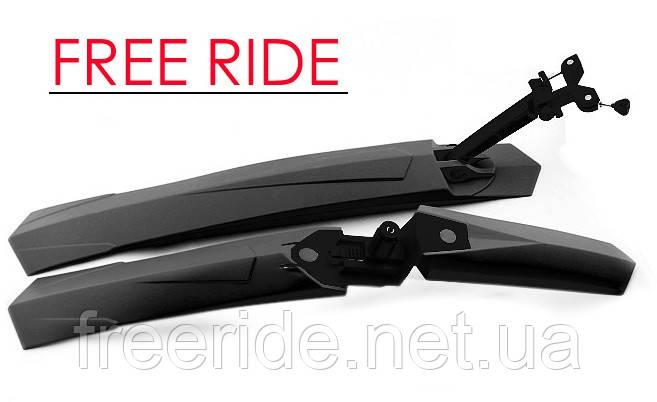 Крылья велосипедные IDEATEB (черные), фото 2