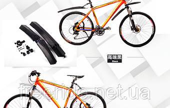 """Крила велосипедні IDEATEB 26"""" (чорні), фото 2"""