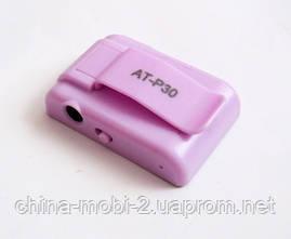 Зеркальный MP3- плеер Atlanfa AT-P30 с прищепкой, pink, фото 3