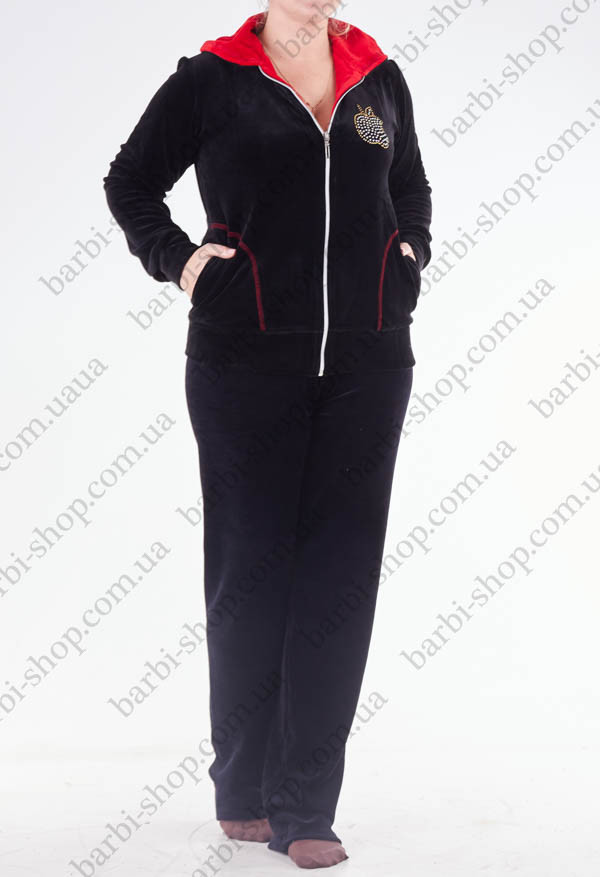 Купить женский велюровый костюм