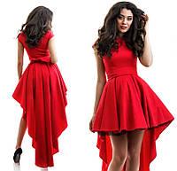 И1819 Платье коктейльное Жакард в расцветках