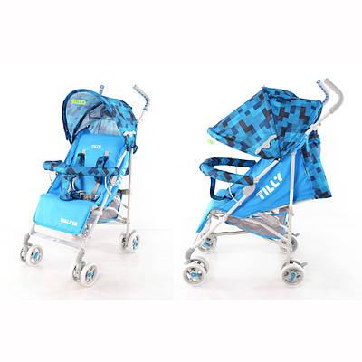 Прогулочная коляска-трость Baby TILLY Walker BT-SB-0001 Синий