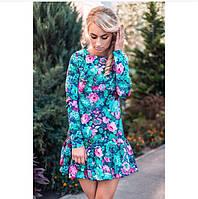 Платье весенний цветок