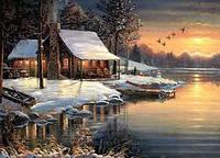 Пазл Cabble Hill - Зимой на озере (The Good Life)