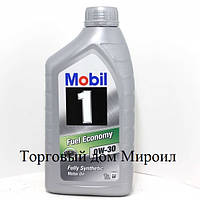 Моторное масло Mobil 0W-30 Fuel Economy канистра 1л