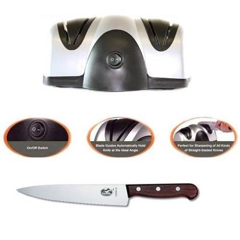 Электрическая точилка для ножей Lucky Home, фото 2