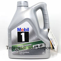 Моторное масло Mobil 0W-30 Fuel Economy канистра 4л