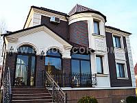 Лепной декор из пенопласта для фасада