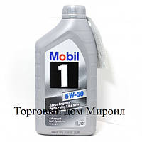 Моторное масло Mobil 1 5W-50 канистра 1л