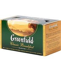"""Чай """"Greenfield"""" classic breakfast 25 пакетиков"""