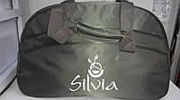 Оливковая Silvia с горизонтальным карманом