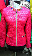 Легкая женская куртка с камнями Вера