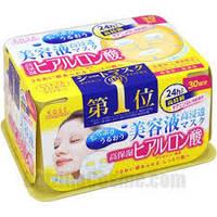 Японские маски с гиалуроновой кислотой Kose 30 шт
