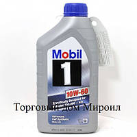 Моторное масло Mobil 1 10W-60 канистра 1л
