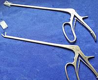 Выкусыватель хирургический изогнутый под углом