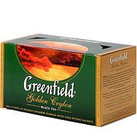 """Чай """"Greenfield"""" Golden Ceylon 25 пакетиков"""