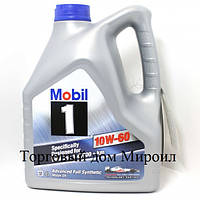 Моторное масло Mobil 1 10W-60 канистра 4л