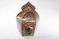 Упаковка для пасхи / 165х165х200 мм / Коробка для кулича / Больш / Пасха / печать-Цветн.Храм.Укр, фото 1