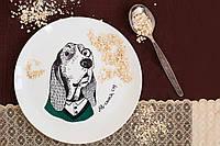 Тарелка Собака-дворецкий
