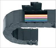 Кабелеукладчик.Закрытая Система Е2 - защита от стружки,съемные крышки, средние размеры.