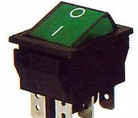 Клавишный переключатель КП-47-И-220 В с одсветкой
