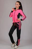 Женский яркий кислотный спортивный костюм полномерный S - XXL Украина. Ярко розовый, салатовый, лимонный, мята