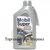 Моторное масло Mobil Super 3000 XE 5W-30 канистра 1л
